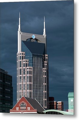 At&t Building Metal Print by Carol M. Highsmith Archive, Library Of Congress