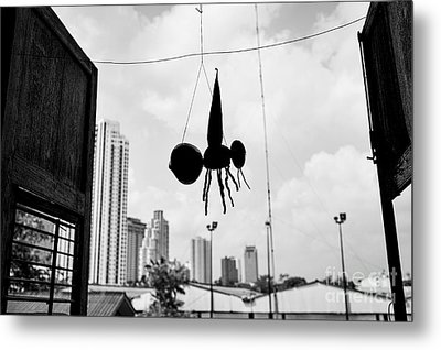 Attack Of The Monster Mosquito Metal Print by Dean Harte