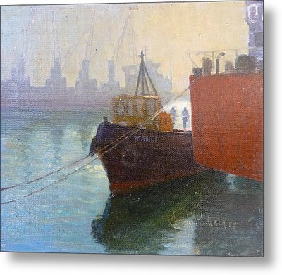 Auckland Morning Metal Print by Terry Perham
