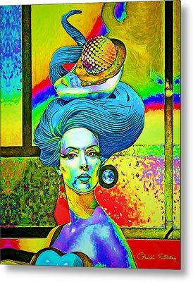 Aurora Metal Print by Chuck Staley