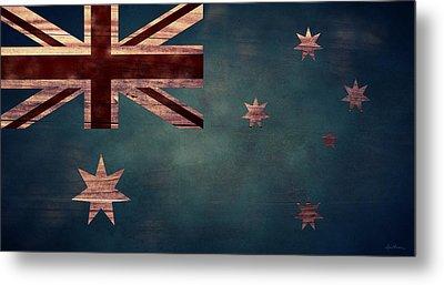 Australian Flag I Metal Print by April Moen