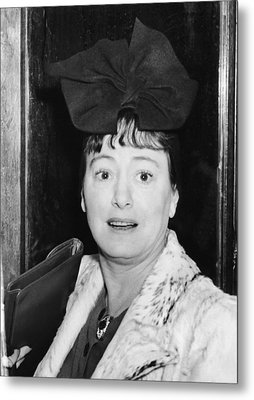 Author Dorothy Parker Metal Print by Underwood Archives