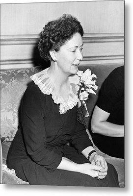 Author Margaret Mitchell Metal Print by Underwood Archives