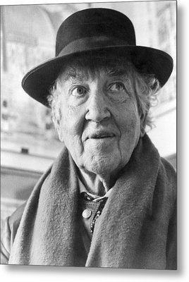 Author Robert Graves Metal Print by Underwood Archives