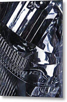 Auto Headlight 10 Metal Print by Sarah Loft