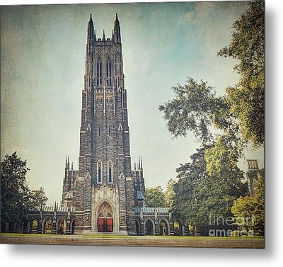 Autumn At Duke Chapel Metal Print by Emily Kay