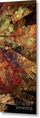 Autumn Bend Metal Print by Andee Design