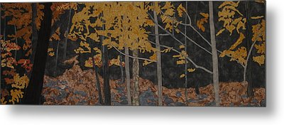 Autumn Carpet Metal Print by Anita Jacques