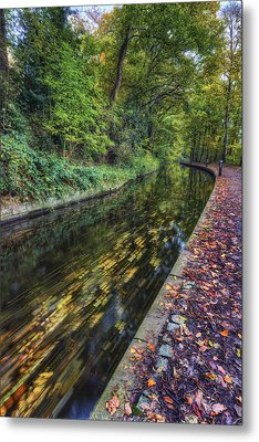 Autumn Colours Passing Metal Print by Ian Mitchell