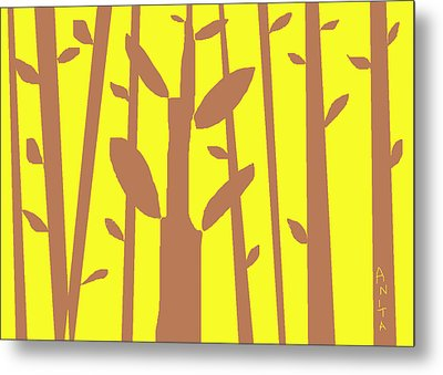Autumn Forest Metal Print by Anita Dale Livaditis