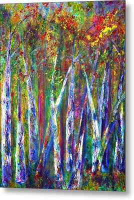 Autumn In Muskoka Metal Print by Claire Bull
