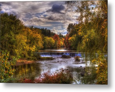 Autumn In New England - Contoocook Nh Metal Print by Joann Vitali