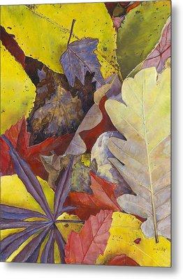 Autumn Leaves Metal Print by Nick Payne