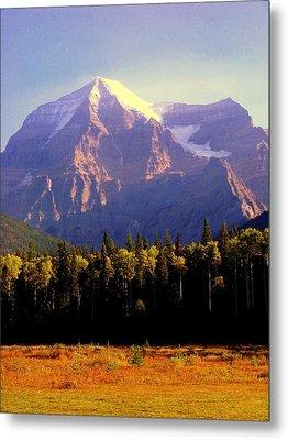 Autumn On The Mount Metal Print by Karen Wiles