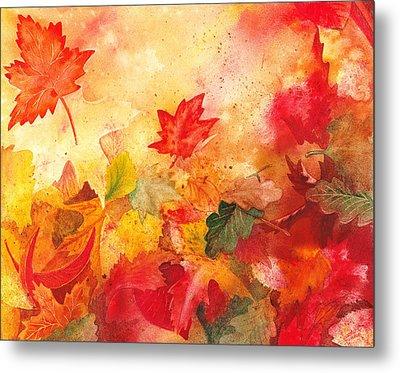 Autumn Serenade  Metal Print by Irina Sztukowski
