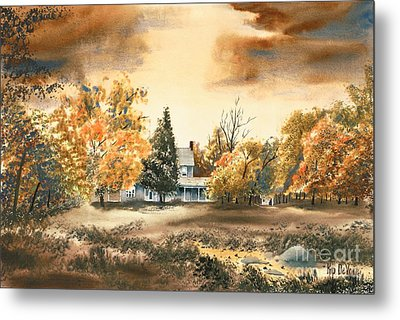 Autumn Sky No W103 Metal Print by Kip DeVore