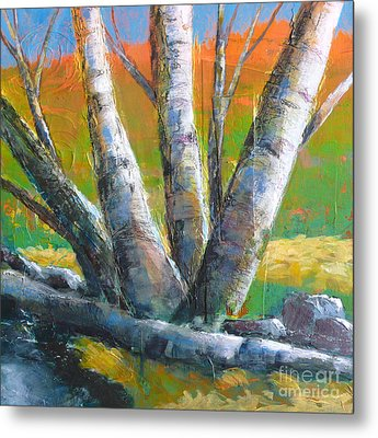 Autumn Splendor Metal Print by Melody Cleary