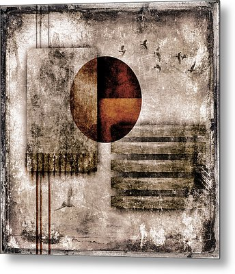 Autumnal Equinox Metal Print by Carol Leigh