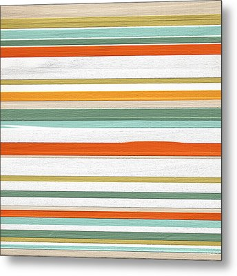 Autumnal Trend Metal Print by Lourry Legarde