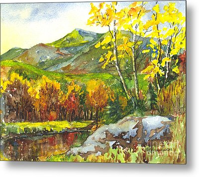 Autumn's Showpiece Metal Print by Carol Wisniewski