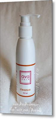 Ava Anderson Nontoxic Cleanser Metal Print by Anne Babineau
