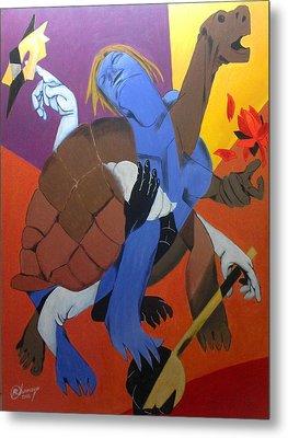Avatar Series-kurma Metal Print by Chinmaya BR