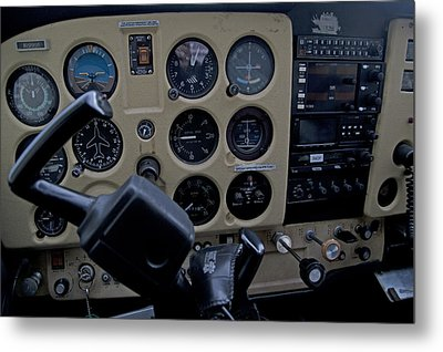 Aviation Near Jekyll Island Metal Print by Betsy Knapp