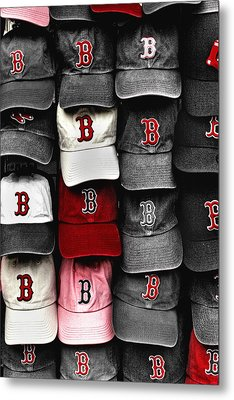 B For Bosox Metal Print by Joann Vitali