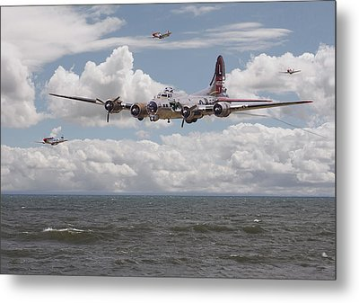 B17 The Hardest Mile Metal Print by Pat Speirs