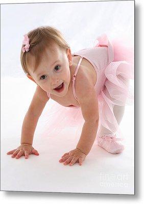 Baby Ballerina Metal Print by Suzi Nelson