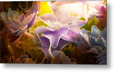 Baby Hydrangeas Metal Print by Bob Orsillo