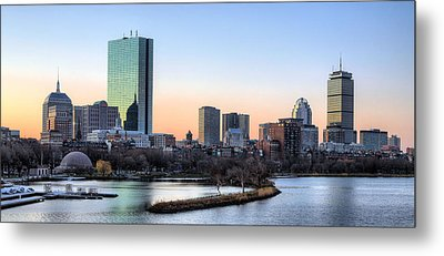 Back Bay Sunrise Metal Print by JC Findley