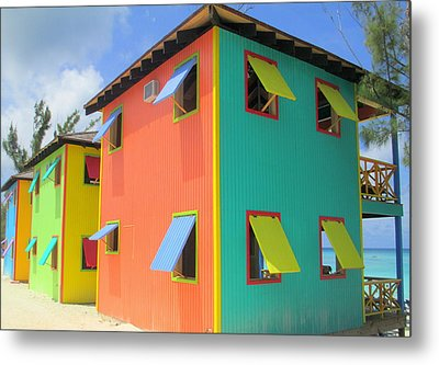 Back Of Cabins 1 Metal Print by Randall Weidner