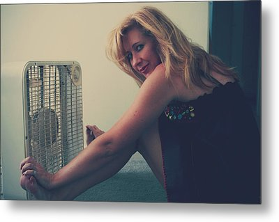 Back When There Were Heatwaves Metal Print by Laurie Search
