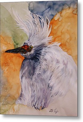 Bad Hair Day Metal Print by Lil Taylor
