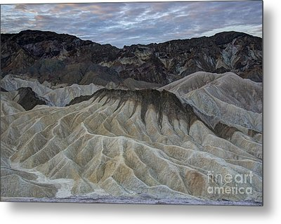 Badlands At Sunrise. Death Valley Metal Print by Juli Scalzi