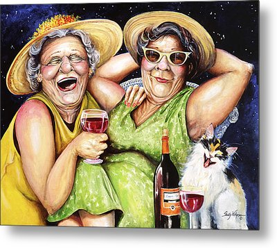 Bahama Mamas Metal Print by Shelly Wilkerson