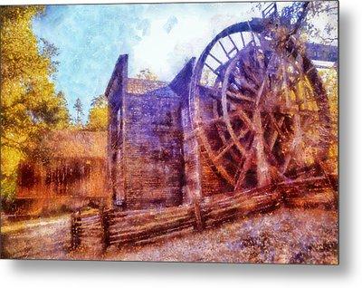 Bale Grist Mill Metal Print by Kaylee Mason
