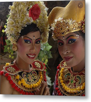 Bali Beauties Metal Print by Bob Christopher
