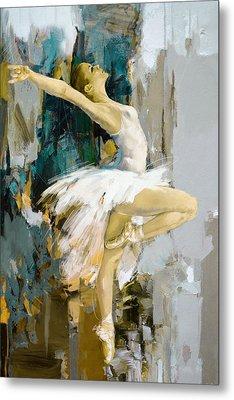 Ballerina 23 Metal Print by Mahnoor Shah