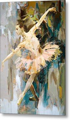 Ballerina 31 Metal Print by Mahnoor Shah