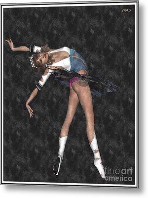 Ballerina B1 Metal Print by Pemaro