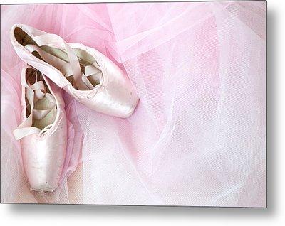 Ballerina Dreams Metal Print by Zina Zinchik