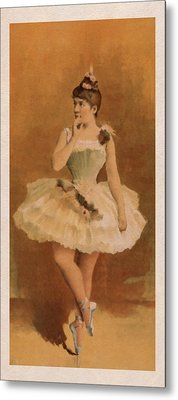 Ballet Metal Print by Aged Pixel