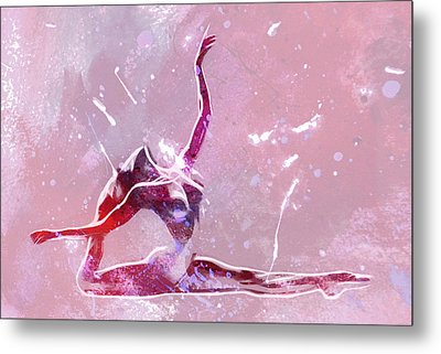 Ballet Art Metal Print by Stefan Kuhn