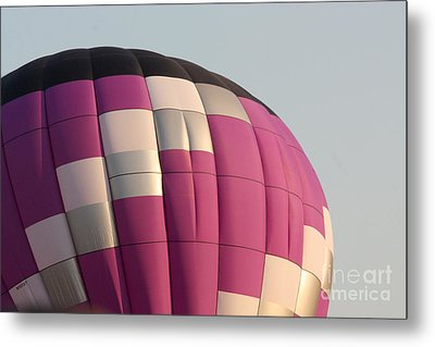 Balloon-purple-7457 Metal Print by Gary Gingrich Galleries