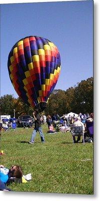 Balloon Rides Metal Print by Lee Hartsell