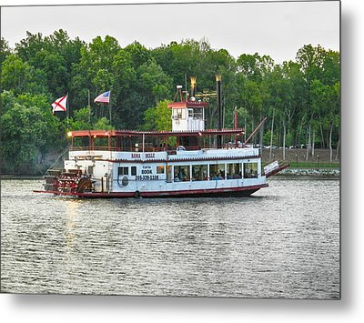Bama Belle On The Black Warrior River Metal Print by Ben Shields