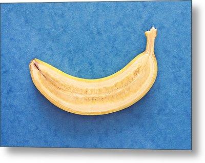 Banana Metal Print by Tom Gowanlock
