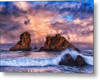 Bandon Beauty Metal Print by Darren  White